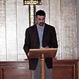 Readings at St Columba's Church, London