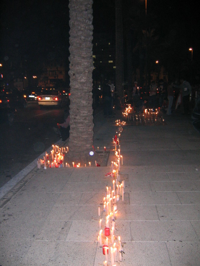 Candle Procession from Parliament Square