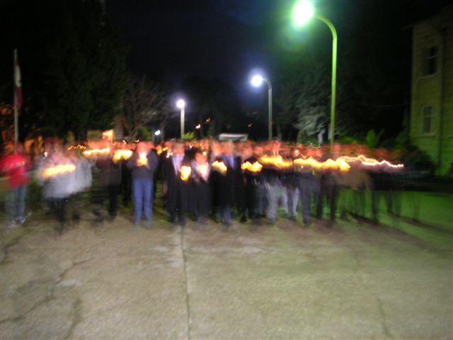 Schneller Institute Vigil