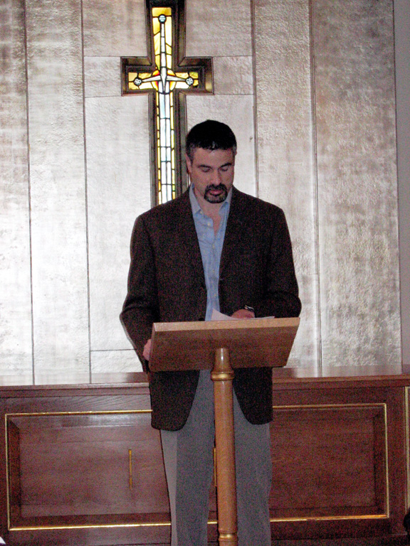 Readings at St Columba's Church, London